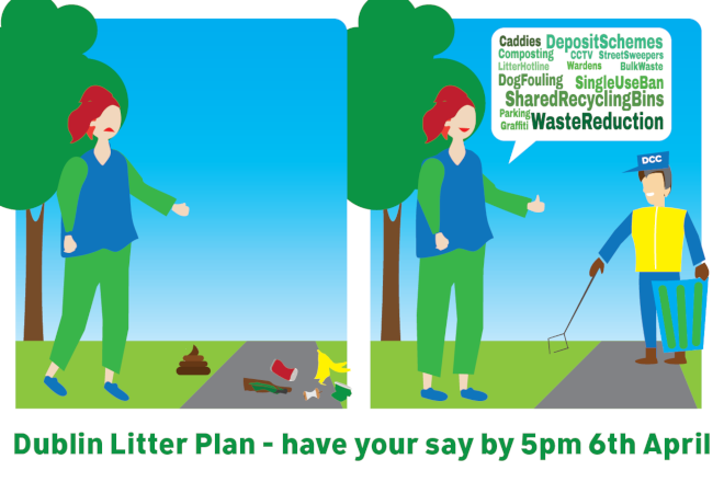 Have your say on Dublin City Council's 2022 Litter Plan